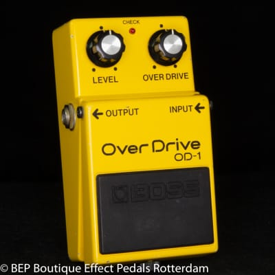 Boss OD-1 Overdrive 1987 Japan s/n 767300 as used by Pete Townshend and Billy Duffy and many more ..