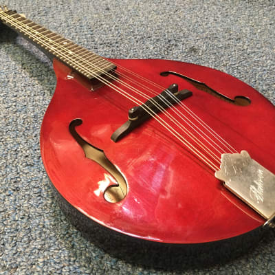 1995 Flatiron Festival A Performer Series Mandolin Red for sale
