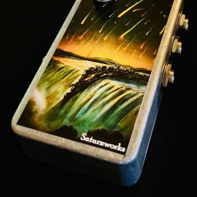 Saturnworks 3-Channel Active Summer Summing Amp Combiner Pedal for Guitar + Bass, Crafted in CA