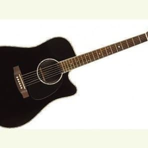 Takamine EG361SC-BK Dreadnought Acoustic/Electric - Black (225) for sale