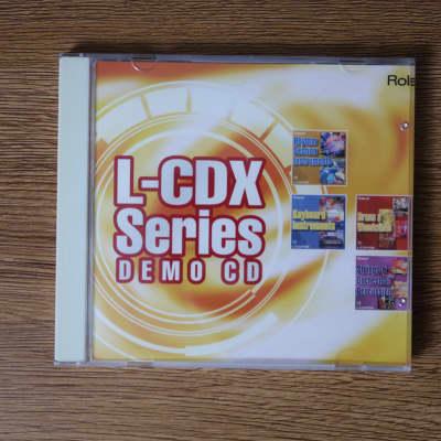 Roland L-CDX Series Demo CD II (sample data XV-5080)