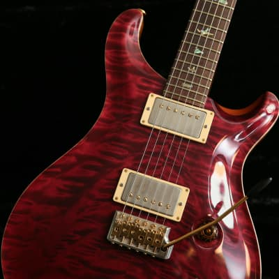 Paul Reed Smith PRS Custom 22 Artist Package Quilt Top Cherry & PRS Case & Tags for sale