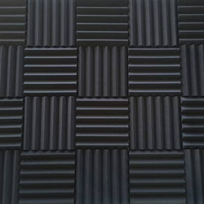 4 Pack Soundproofing Acoustic Studio Foam Wedges Acoustic Foam Panels - Made in USA