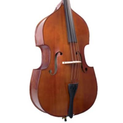 "VB-029-3/4 Palatino Solid Top Flamed Bass,3/4 + Carrying Bag ""Set Up in USA"""
