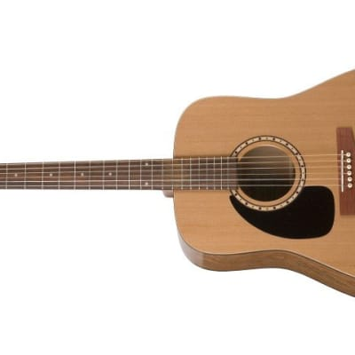 Simon & Patrick 028986 Woodland Cedar Left Handed Acoustic Electric 6 String Guitar for sale
