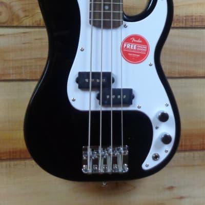 New Squier® Mini Precision Bass® Laurel Fingerboard Black