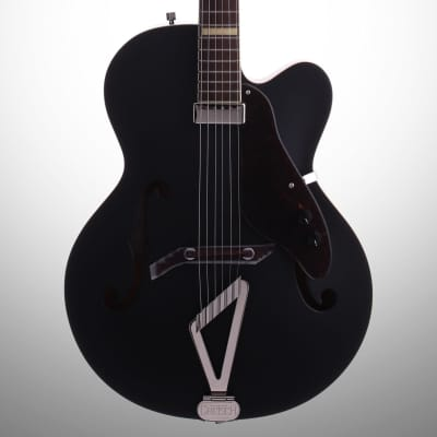 Gretsch G100CE Synchromatic Archtop Acoustic-Electric Guitar, Black