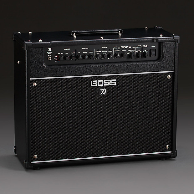 boss katana artist 1x12 2 ch amp guitar combo amplifier reverb. Black Bedroom Furniture Sets. Home Design Ideas