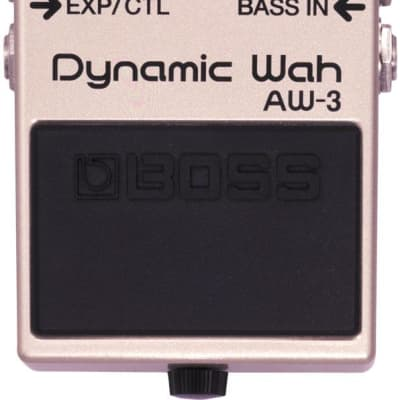 Boss AW-3 Dynamic Wah Guitar Effect Pedal for sale