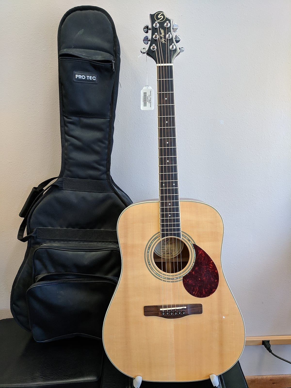 Greg Bennett D-5 Gloss Dreadnought Acoustic Guitar ...