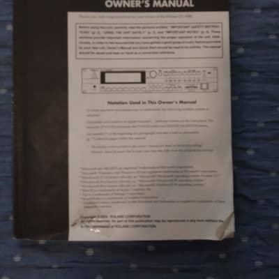 Roland XV-5080 original manual