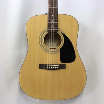 Fender FA-100 Acoustic Guitar Natural
