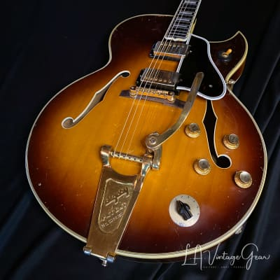 Gibson 1960 Byrdland  Vintage Electric Guitar -  PAF's , Gold Hardware,  Bigsby Tailpiece , & OHSC ! for sale