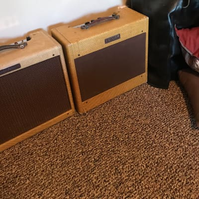 Fender Deluxe 1953 Wide Panel Tweed model: 5B3