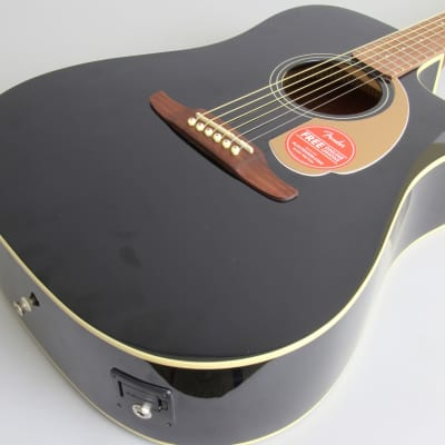 Fender Redondo Player Acoustic-Electric Guitar | Jetty Black for sale