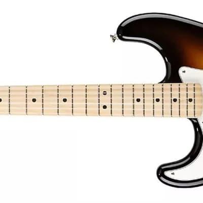 Fender Standard Stratocaster® Left-Handed, Maple Fingerboard, Brown Sunburst 0144622532 for sale