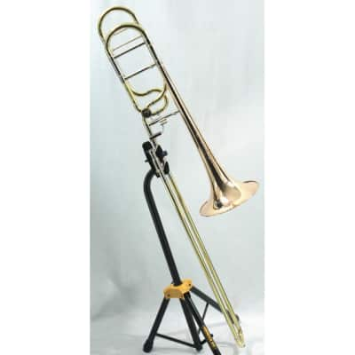 S.E. Shires TBVE Vintage Elkhart Tenor Trombone with Dual Bore Rotay Attachment Lacquer