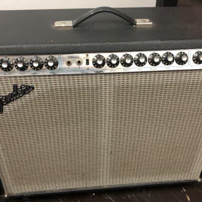 Fender Twin Reverb Silverface  W/Switch Partially Restored Original Tubes 1975 Silver W/ Black Tolex