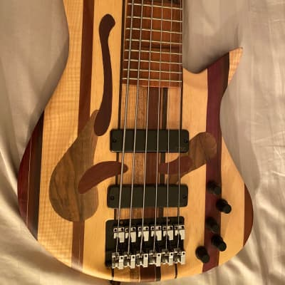 Wood Guerilla Tulip 6 String Bass for sale
