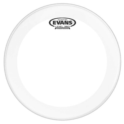 """Evans BD22GB4C EQ4 Frosted Bass Drum Head - 22"""""""