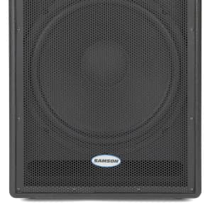 "Samson Auro D1800 500w 18"" Active Subwoofer Speaker"