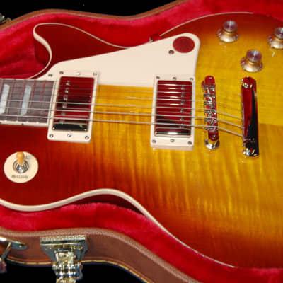 NEW! 2020 Gibson Les Paul 60's Standard Iced Tea Finish Authorized Dealer Chevron Flame Warranty
