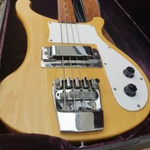 Rickenbacker, Bass Guitar, 4000 Series, 1973, Natural for sale