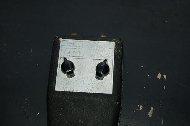 Jen -Vox Tone Bender Black | Guy's Vintage Effects | Reverb