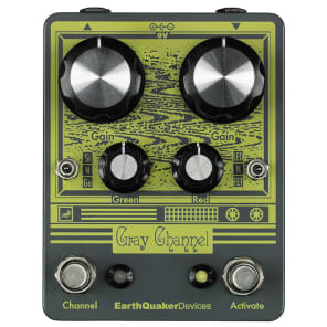 EarthQuaker Devices Gray Channel - Dynamic Dirt Doubler for sale