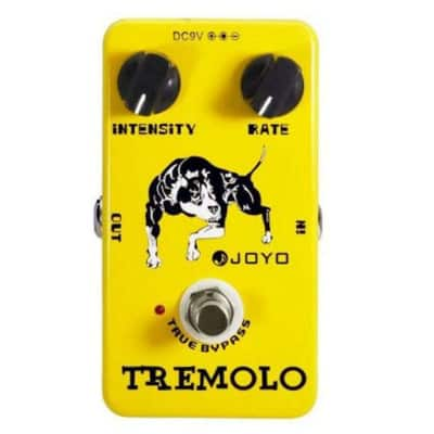 Joyo JF-09 Tremolo Guitar Pedal with True Bypass