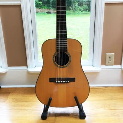 Musser 08 - Custom 8-String Dreadnaught  1977 natural for sale