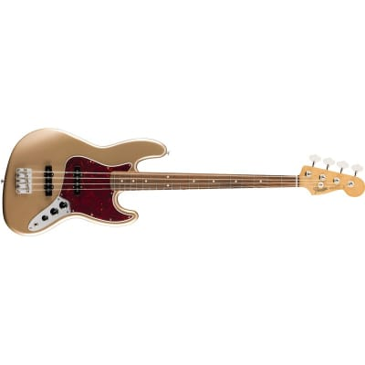 Fender Vintera '60s Jazz Bass, Pau Ferro, Firemist Gold for sale