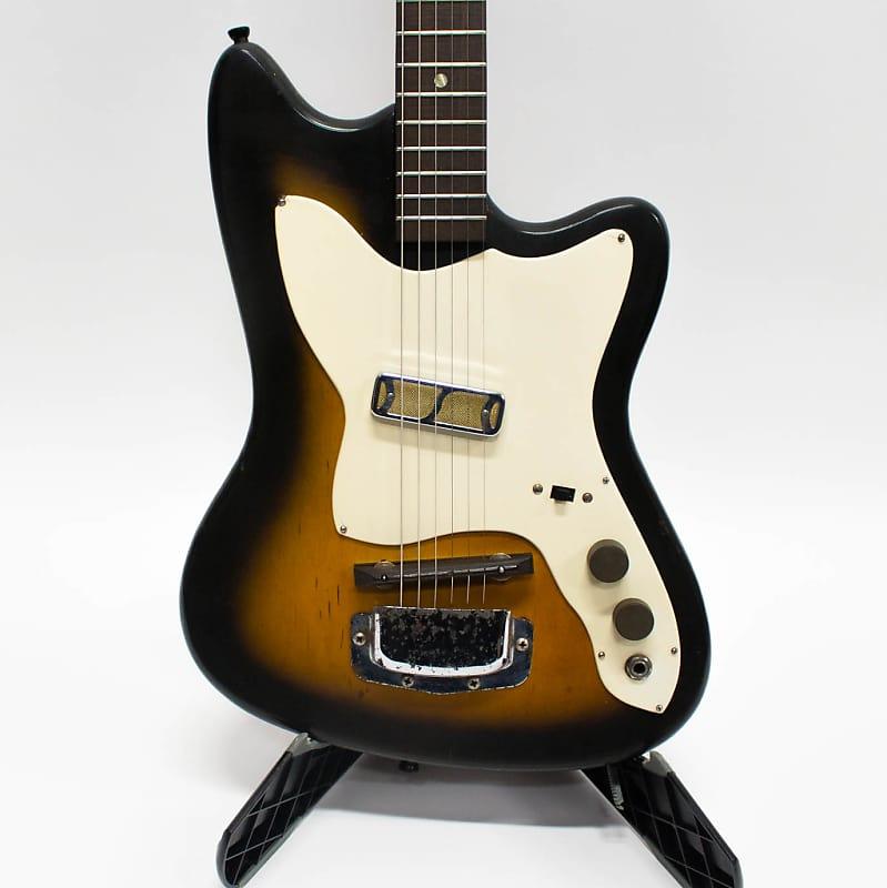 1965 harmony bobkat h 14 single pickup electric guitar reverb. Black Bedroom Furniture Sets. Home Design Ideas