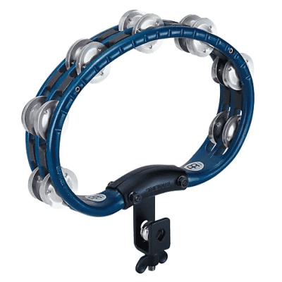 Meinl TMT2A-B Mountable Tambourine with Aluminum Jingles