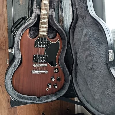 Epiphone Faded G-400 SG 2010s Worn Brown Plus Case for sale