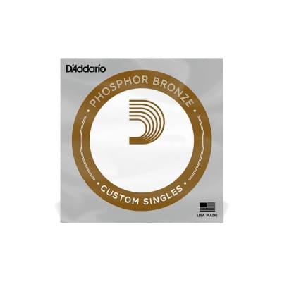D'Addario Single Strings - Phosphor Bronze Wound - 0.030