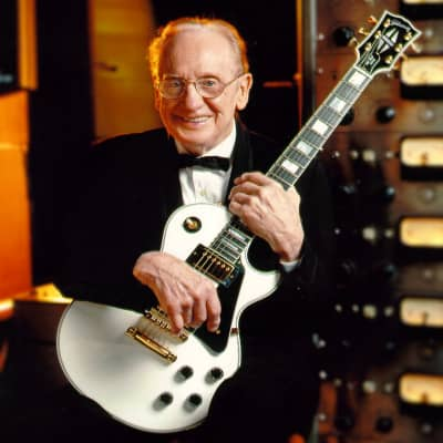 Les Paul's Personal 50th Anniversary White Custom Featured on his Autobiography~ Collector's Package for sale