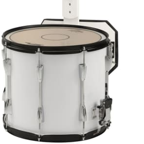 """Sound Percussion Labs MSD1412WH 14x12"""" Marching Snare Drum with Carrier"""