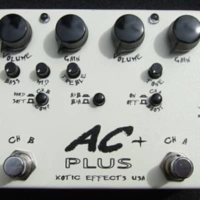Xotic AC Plus Booster Pedal