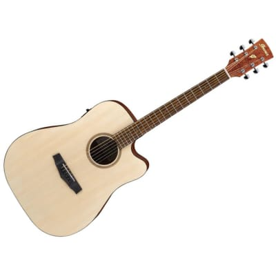 Ibanez PF10CE-OPN - Open Pore Natural Acoustic Guitar for sale