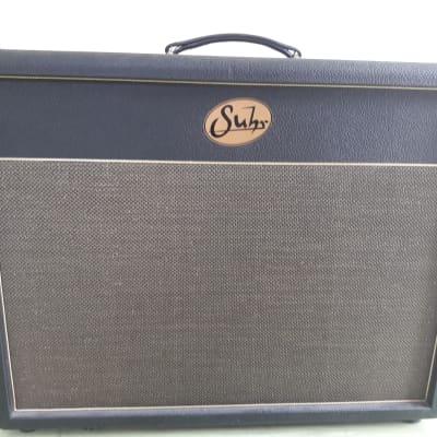 Baffle 2x12 Suhr guitar cab black gold USA for sale