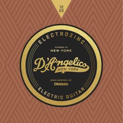 D'Angelico Electrozinc Jazz Light 12-52