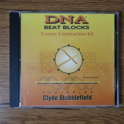 DNA Beat Blocks Groove Construction Kit ft. Clyde Stubblefield Sample CD-rom