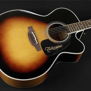 Takamine P6JC-BSB Pro Series Jumbo Acoustic/Electric Cutaway - Brown Sunburst (298) for sale