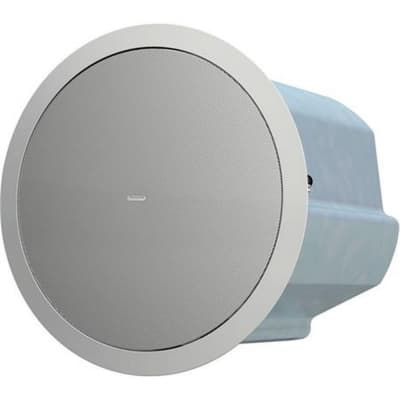 """Tannoy CMS 801 SUB BM 8"""" Compact Ceiling Mounted Subwoofer Pair - White - Open Box"""