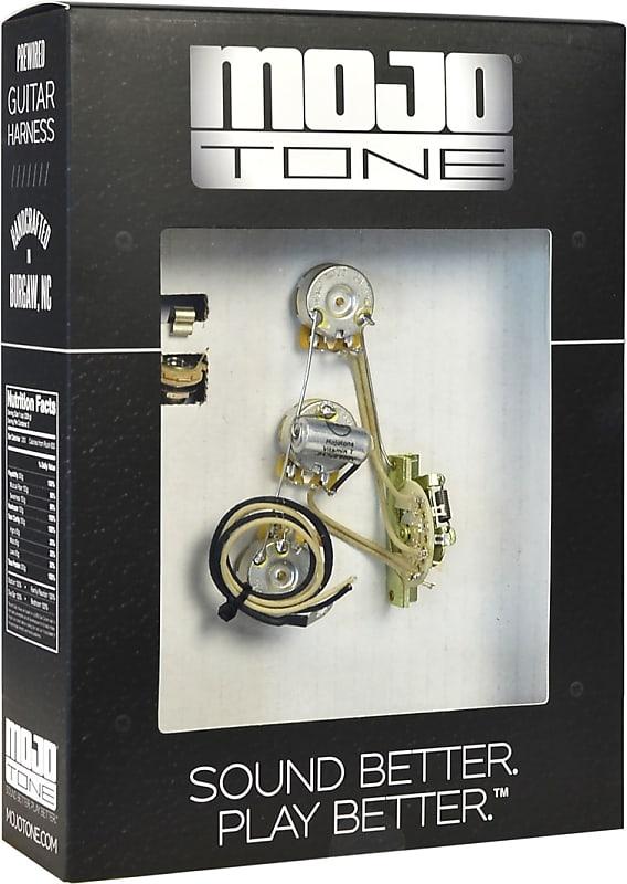 mojotone pre wired strat blender 5 way wiring kit mojotone reverb. Black Bedroom Furniture Sets. Home Design Ideas