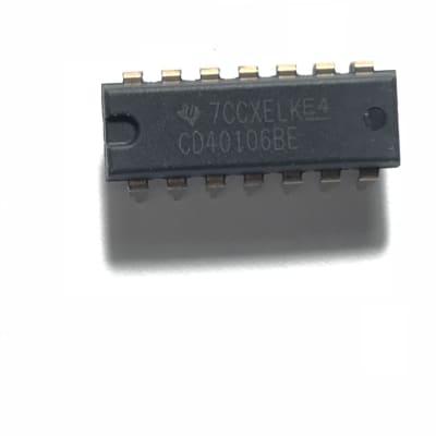 CD40106BE CMOS Hex Schmitt-Trigger Inverters (Pack of 5)