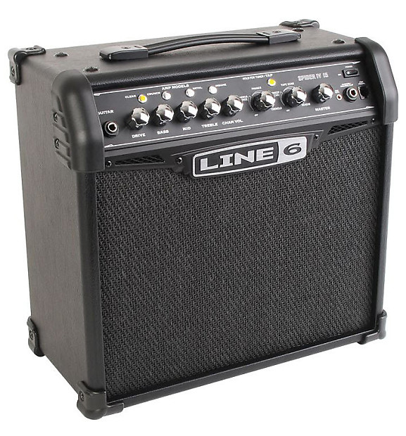 line 6 spider 4 how to get a clean sound