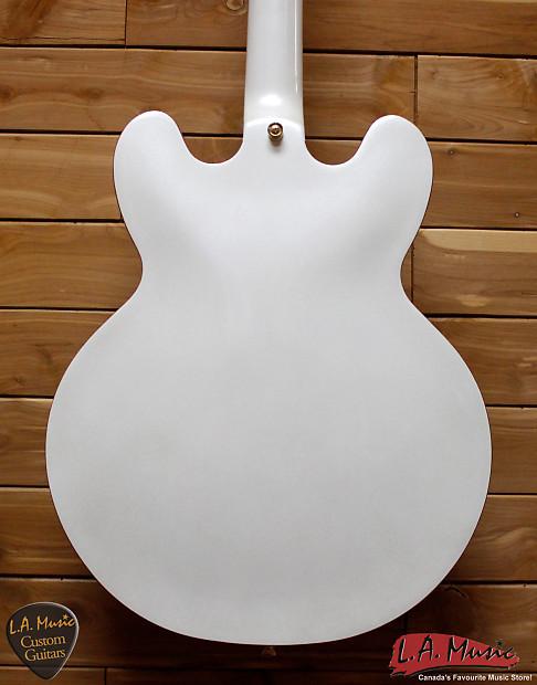 Epiphone ES-335 Royale Pearl White Guitar Electric EDOTPWGH