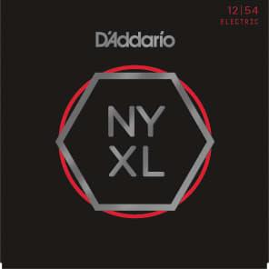 D'Addario NYXL1254 Nickel Wound Electric Guitar Strings, Heavy Gauge